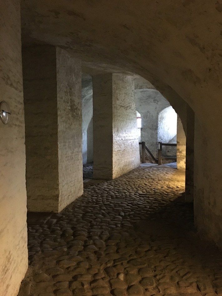 Catacombs, Kronbord Castle, Denmark, August 8, 2017