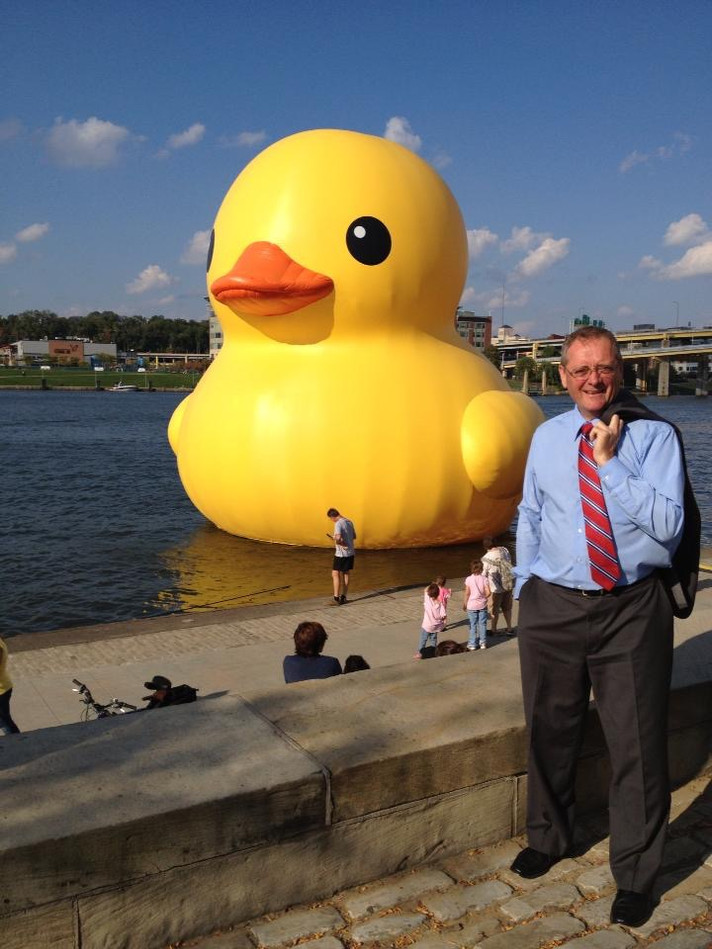 Rubber Duckie in Pittsburgh, Oct 1, 2013