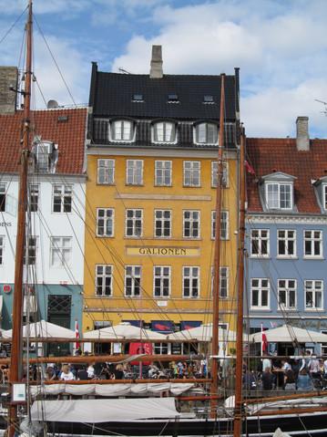 Nyhavn, Copenhagen, August 9, 2017
