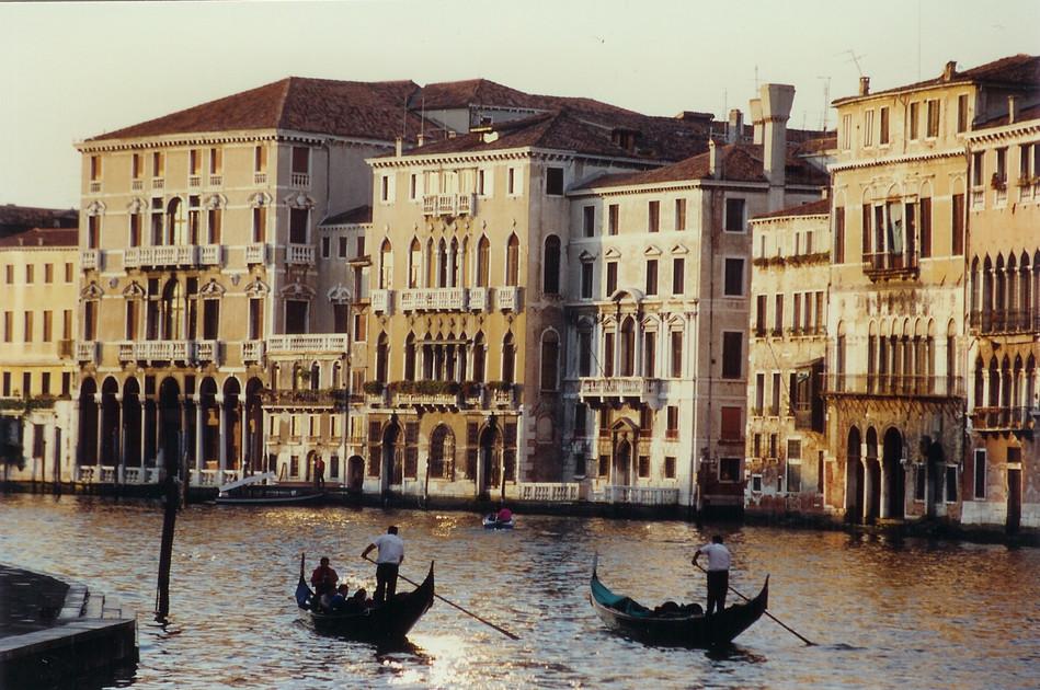 Canale Grande, Venice, 1989