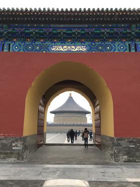Temple of Heaven, Beijing, China, 2016