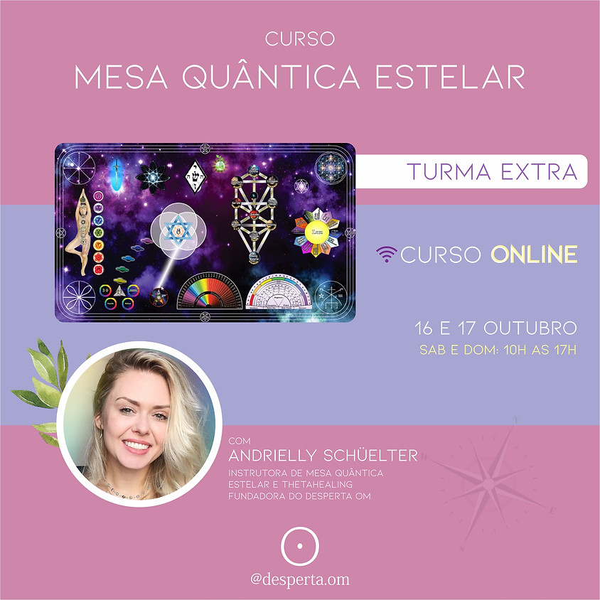 Mesa Quântica Estelar Online  - TURMA EXTRA