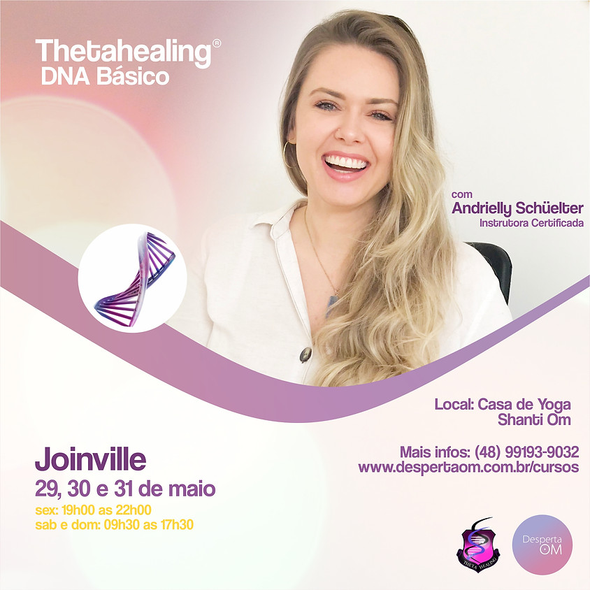 Thetahealing® DNA Básico em Joinville