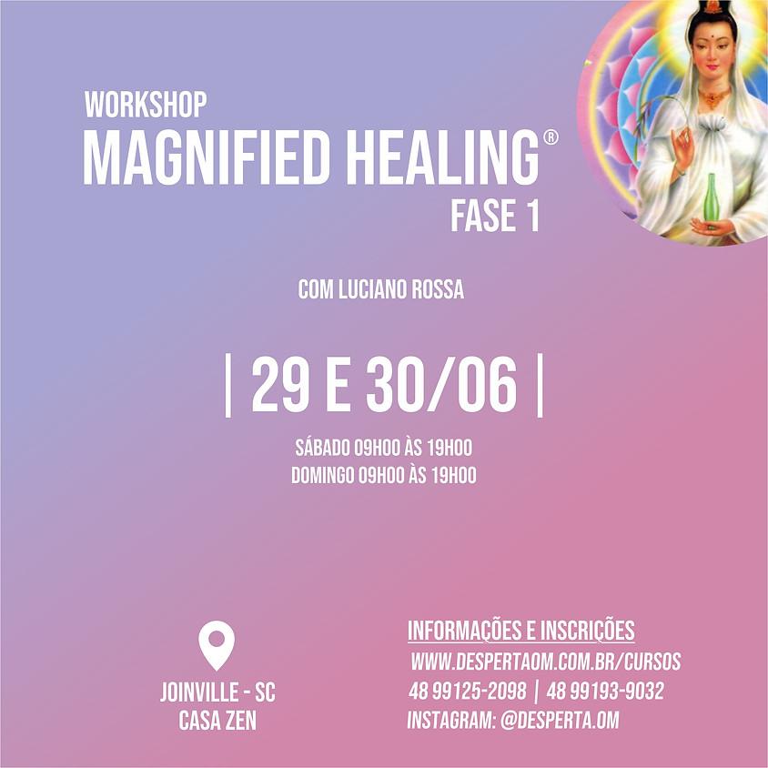 Workshop Magnified Healing® em Joinville - Fase 1
