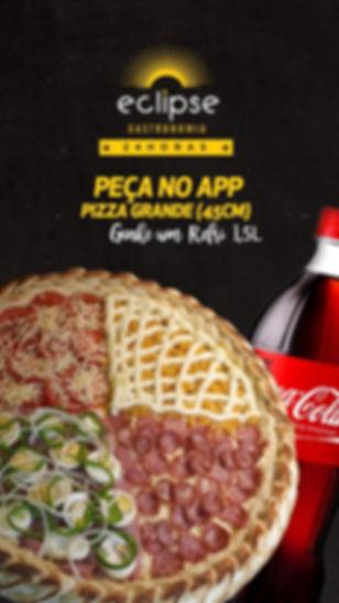 Peça no aplicativo