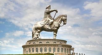 Mongolia travel Monument