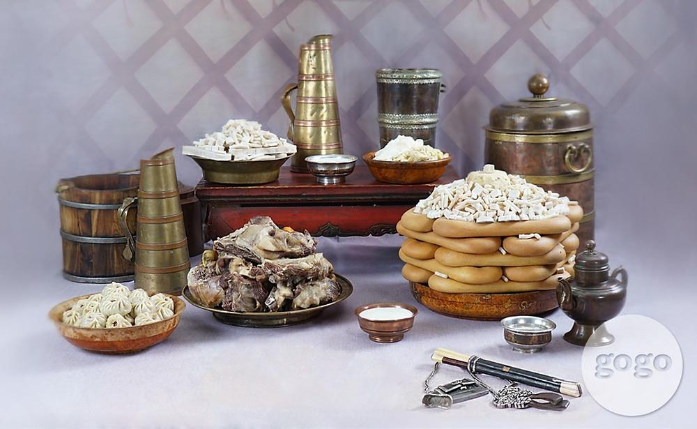 mongolian food Mongolia travel Enza tours