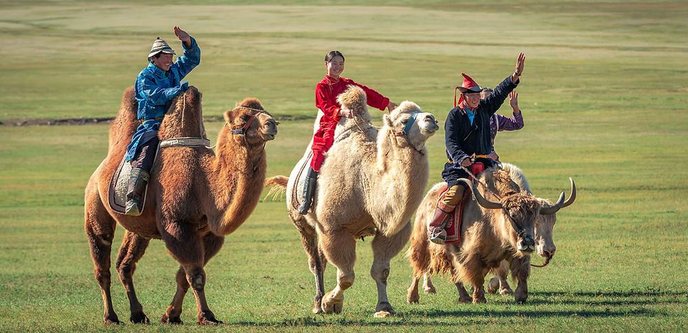 Mongol nomadic Mongolia travel Enza tours