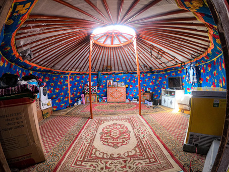 Discover the traditional Mongolian yurt