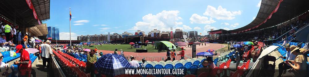 Mongolian stadium