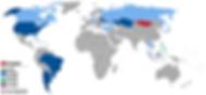 Visa free countries to Mongolia