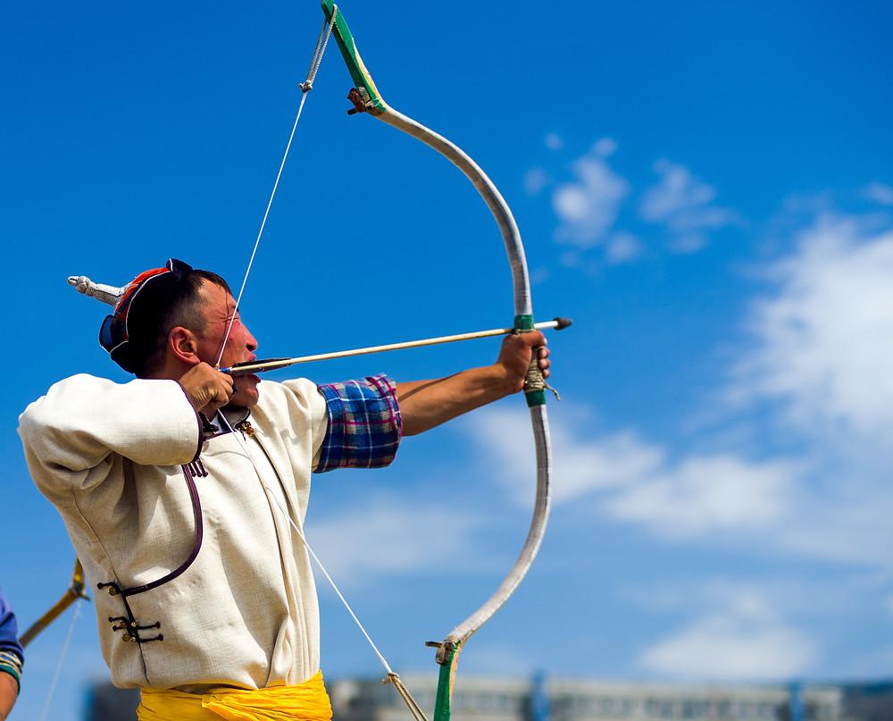 arrow shooting