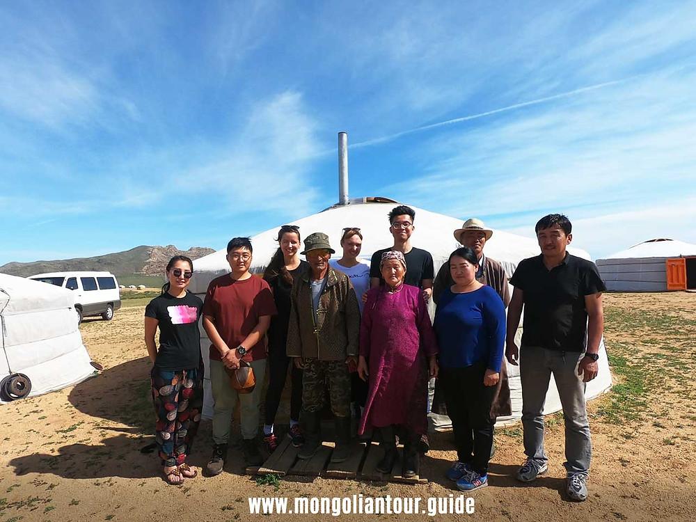 Bor grandpa and Yandag Grandma's family
