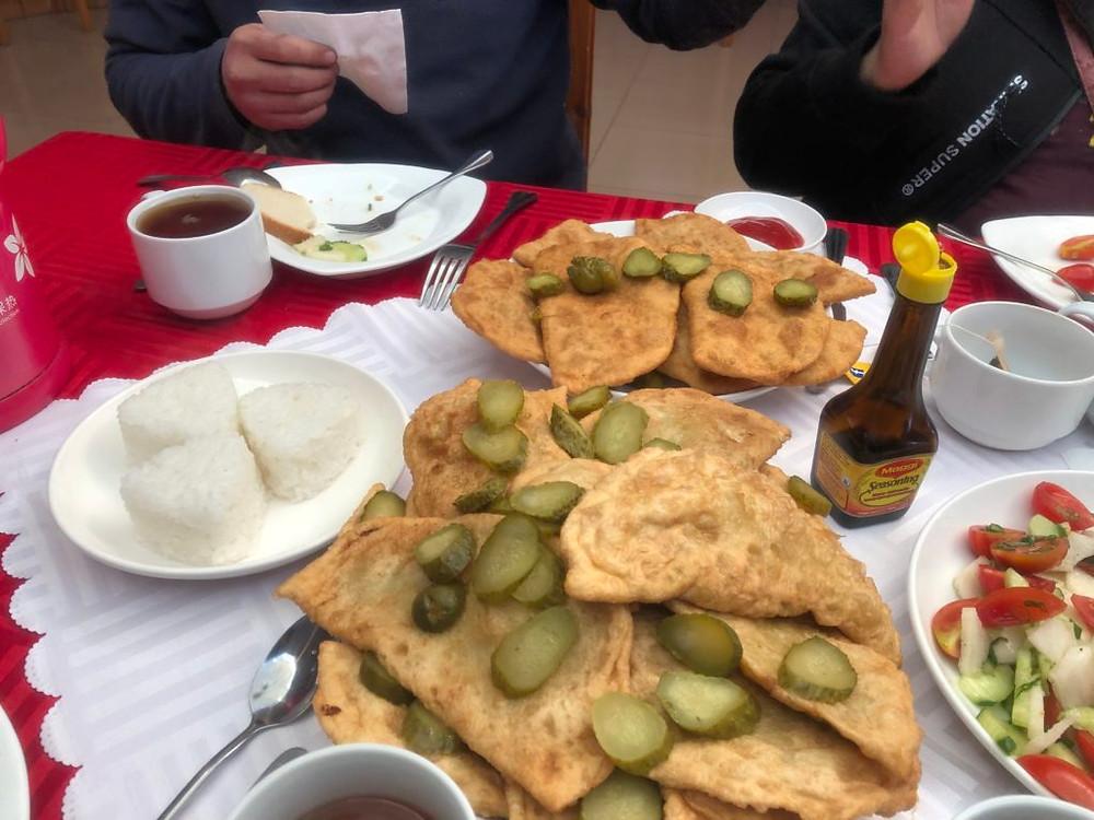 Gambir, mongolian traditional bread