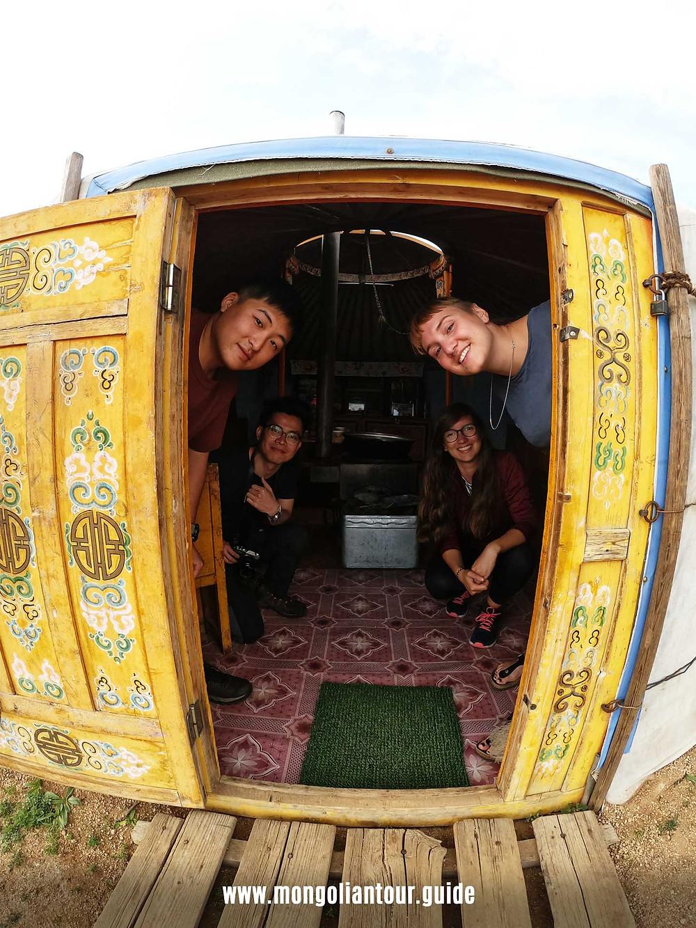 Nomadic yurt