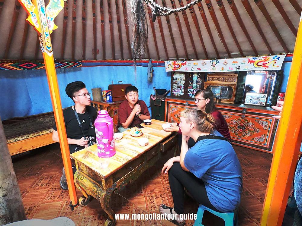 real nomadic yurt