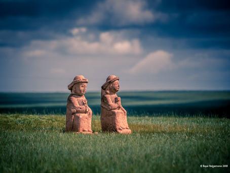 """MONGOLIAN STONE MEN"" (BABA)"
