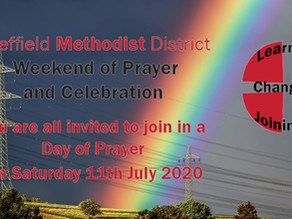 A Weekend of Prayer and Celebration 11th-12th July