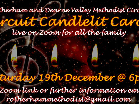 Carols by Candlelight by Zoom!