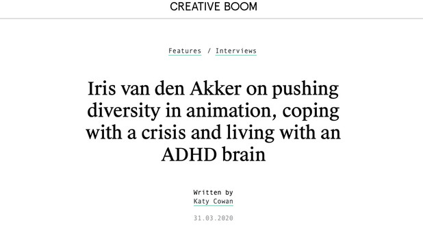 feature on creative boom