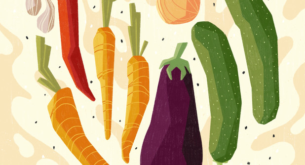 Personal projects: Food Illustration