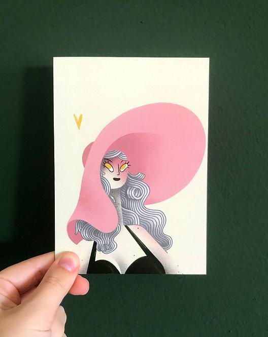 Olga - greeting card