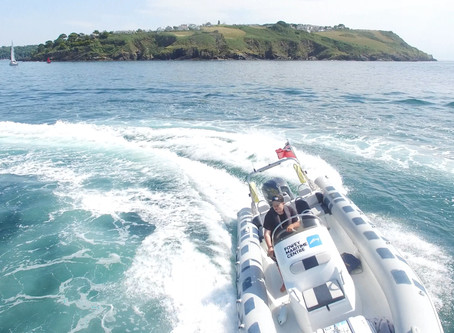 Daily Coastal Tours starting this weekend from Town Quay Fowey. #foweyriver #boattrips #seasafari