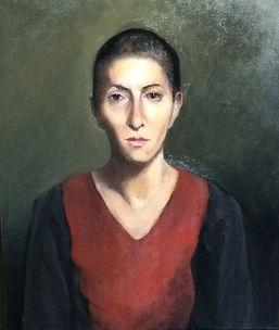 Zanbi, oil on canvas, 50x60 cm