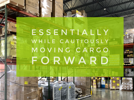 Update 03/27/2020, Meeting global demand, while cautiously moving cargo forward
