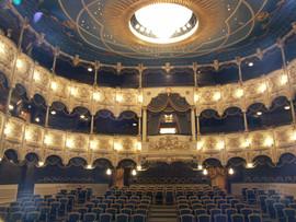 Soffitto del Teatro Nazionale della Commedia Musicale di  Baku (Azerbaijan)