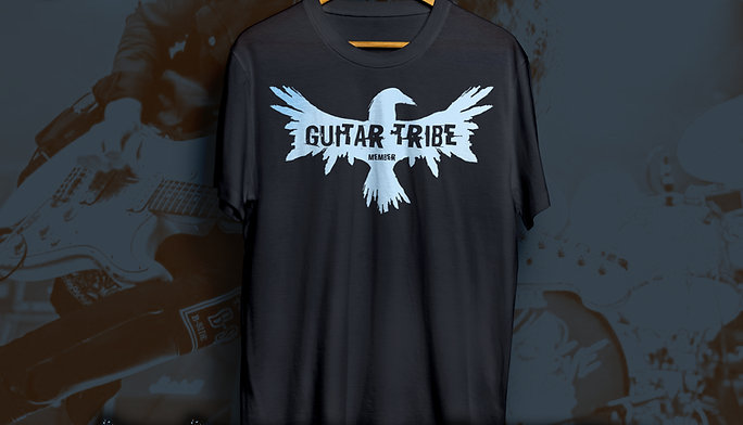 Guitar Tribe Members T-Shirt