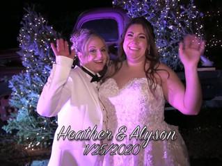 Heather and Alyson