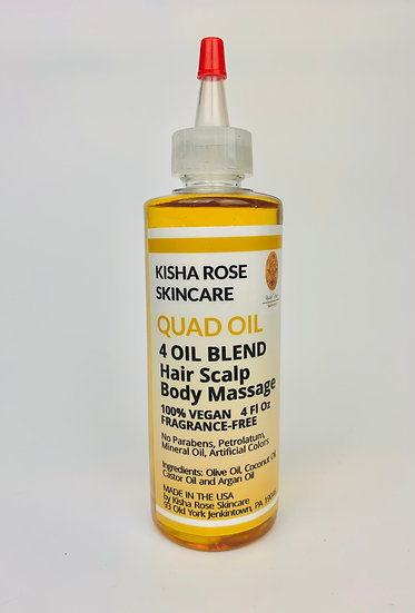 QUAD Oil - Strong Hair Serum