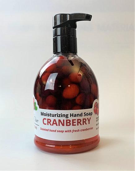 Cranberry Handsoap- Limited Quantities