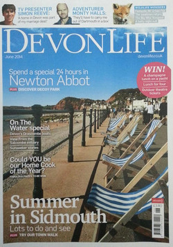 Devon Life magazine June 2014