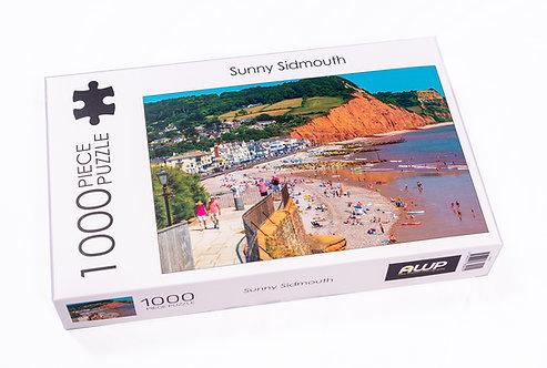 Sunny Sidmouth  - Jigsaw (1000 piece) l FREE POSTAGE