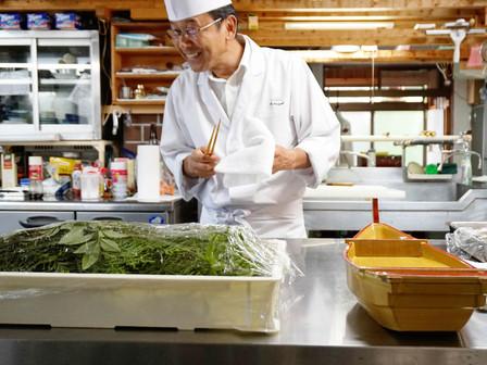 Itadakimasu: a cozinha de um ryokan