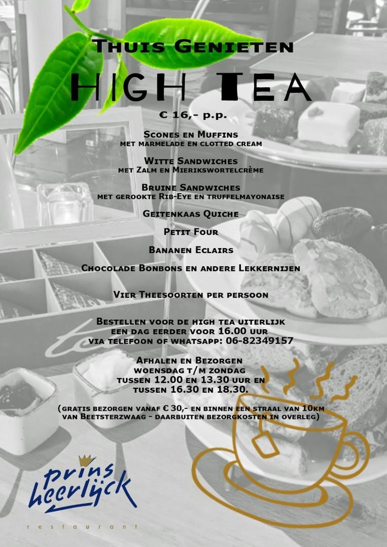 High Tea voor Thuis