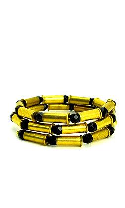 22 Bullet M Infinity Bracelet Jet