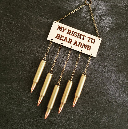 My Right to Bear Arms Christmas Ornament