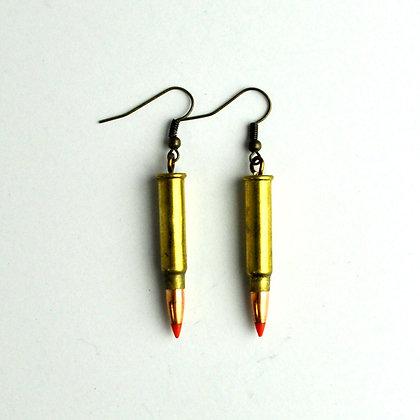 Bullet Earrings 17 Cal.