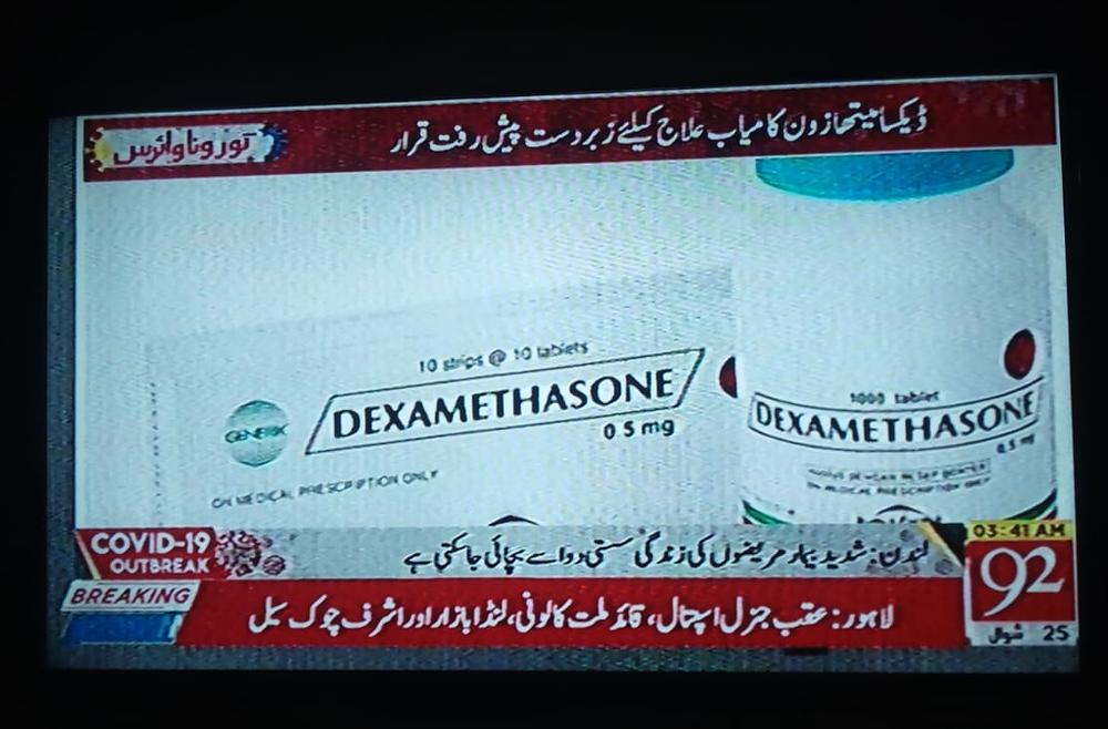Dexamethasone for Corona