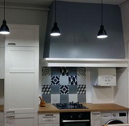 Rénovation d'une cuisine réalisée par Régis Planes Agencement dans la région de Bordeaux 33.