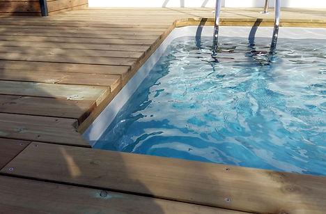 Zoom Terrasse piscine.