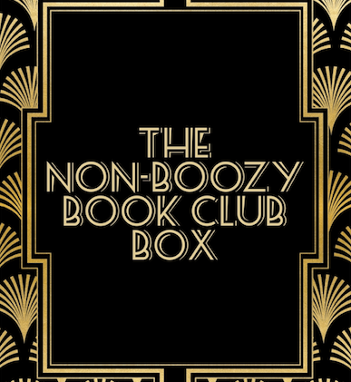September's Non-Boozy Book Club Box - The Funny Thing about Norman Foreman