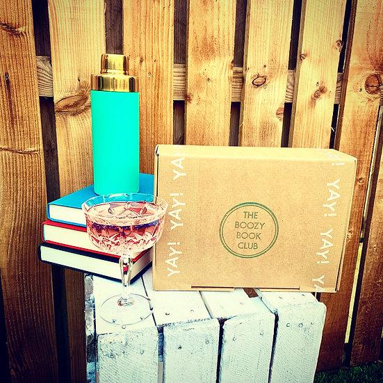 Boozy Book Club - 3 Month Gift Set