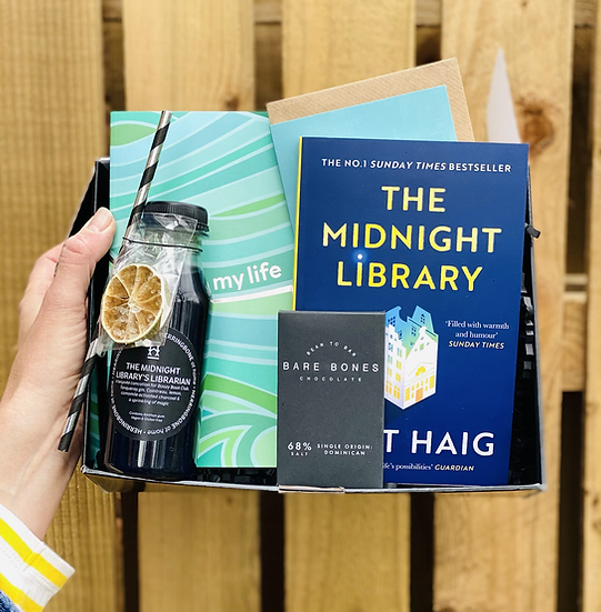 February's Box - The Midnight Library