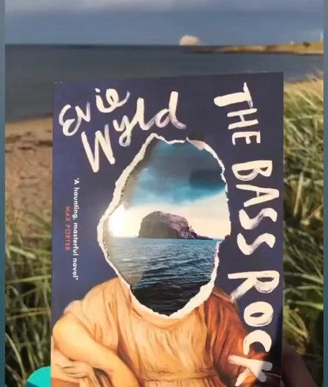 Evie Wyld - The Bass Rock. Online meet Ticket - Thurs 30th Sep