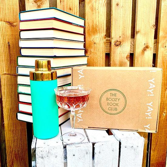 Boozy Book Club - 1 Year Gift Set