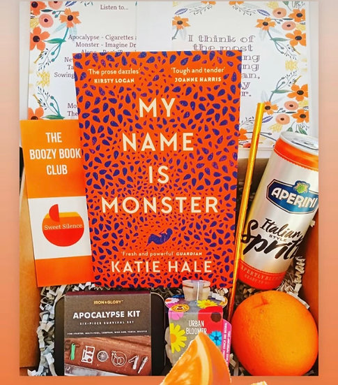 July's Box - My Name is Monster